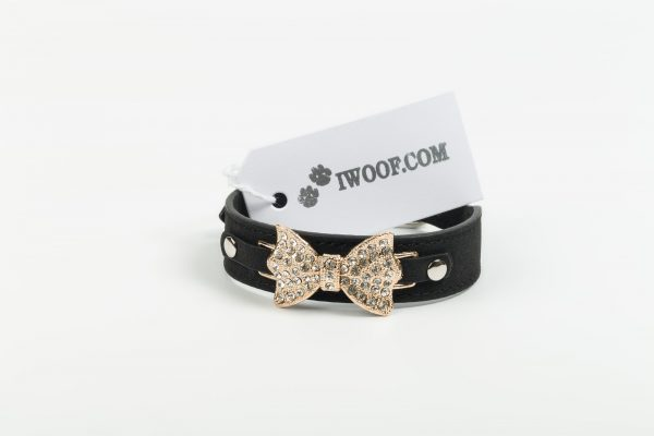 St Ives Dog Collar Black