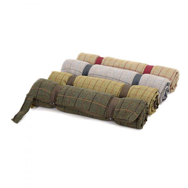 Travel Dog Bed >> Tweed Dog Travel Bed By Iwoof Com In Designer Dog Beds