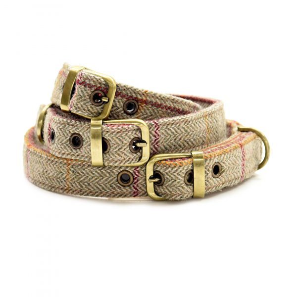 Brown Herringbone Collar