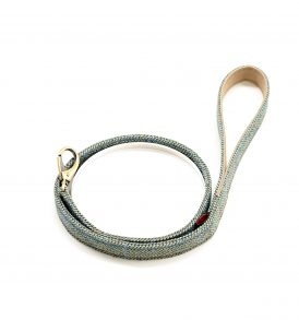 Green Herringbone Lead
