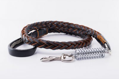 Walton designer Dog Lead Brown