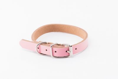 Morwenna Designer Dog Lead - Soft Pink