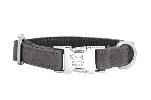 Dolphin designer dog collar and matching designer dog lead by IWOOF