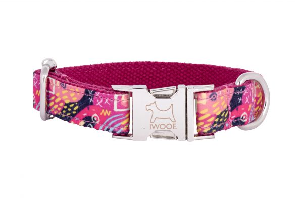 Sweeties designer dog collar and dog lead by IWOOF