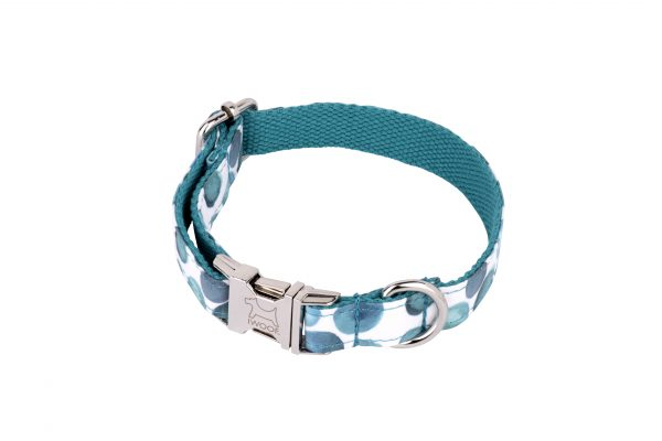 Bubbles designer dog collar and designer dog lead by IWOOF