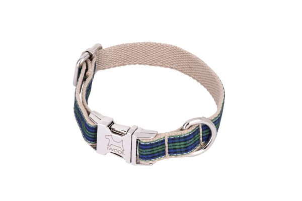 Fruit Tart designer dog collar and dog lead by IWOOF