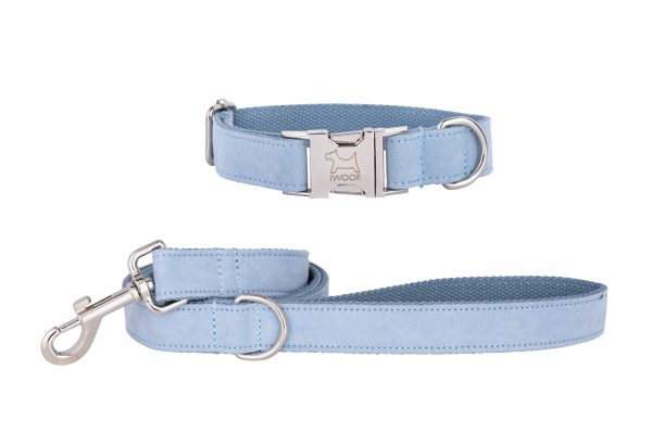 Atlantic designer dog collar and matching designer dog lead by IWOOF