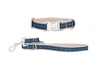 Fruit Tart designer dog collar and matching designer dog lead by IWOOF