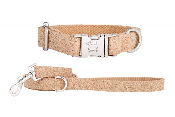 Sand Storm designer dog collar and matching designer dog lead by IWOOF