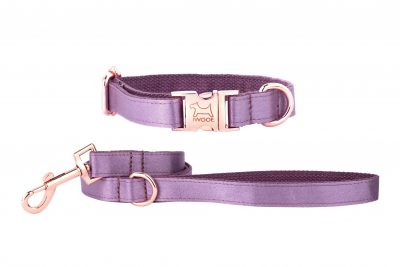 ESMA designer dog collar and lead by IWOOF