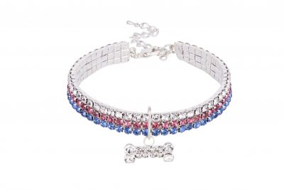 BRITISH Designer Dog Necklace by IWOOF